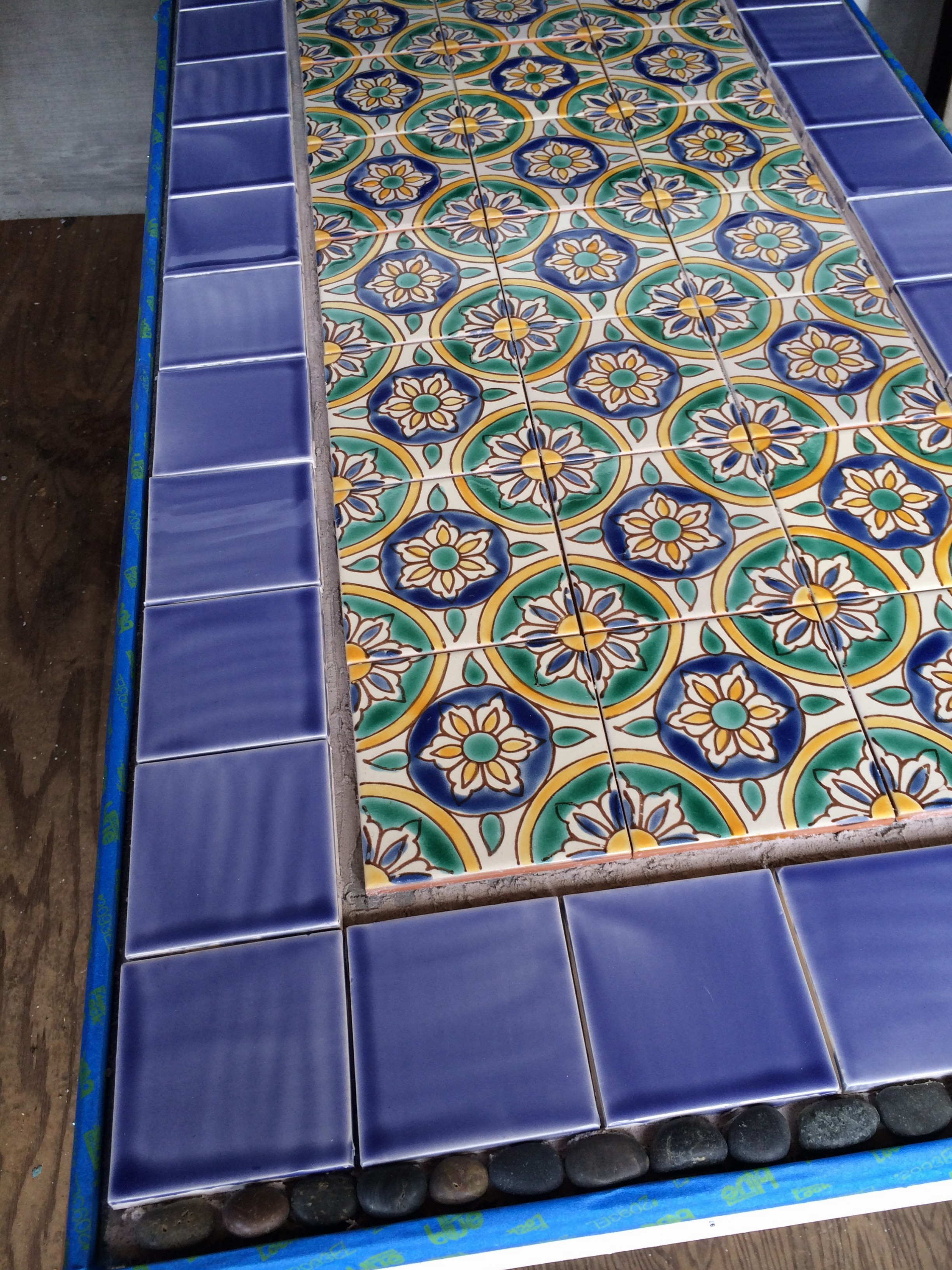 Granada Mediterranean Tiles Cobalt Blue Tile And Mosaic